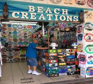 Myrtle Beach Boardwalk Shopping