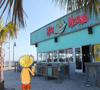 Moe Moon The Legendary Beach Extraordinaire And International Las Man Moons Is Located On Boardwalk In Myrtle